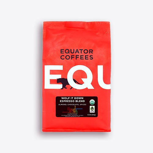 Wolf It Down Espresso Blend | Equator Coffees + Chef Tyler Florence