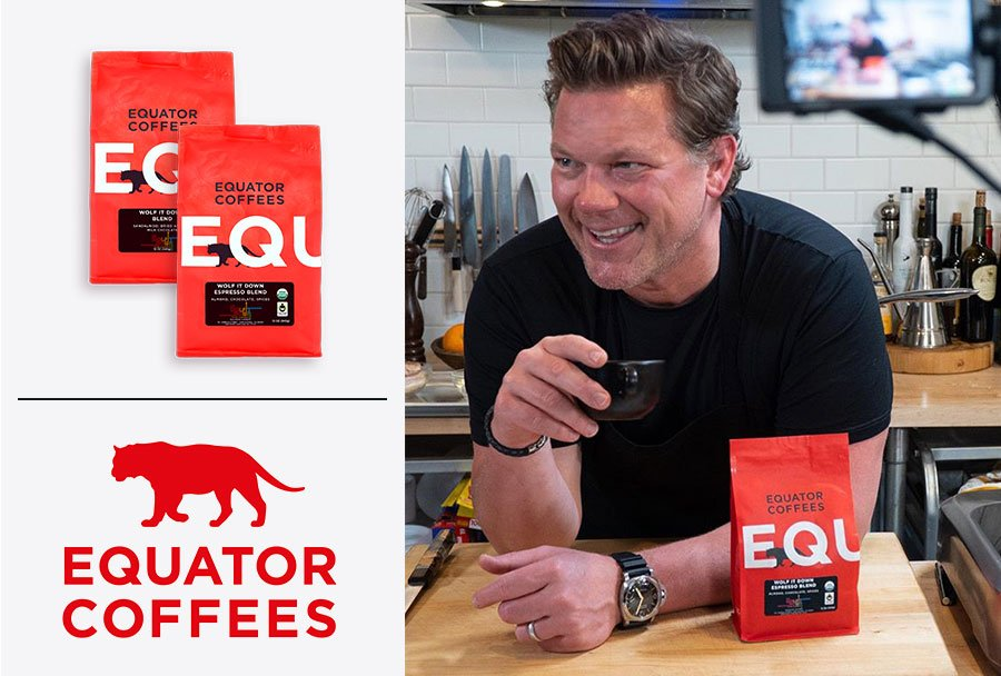 Equator Coffees + Chef Tyler Florence